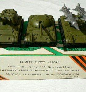 Военные игрушки СССР