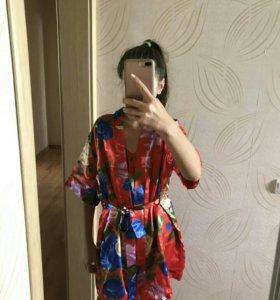 Халат+ топ+шорты ,пижама,белье Новое