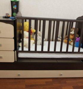 Кровать детская (трансформер)
