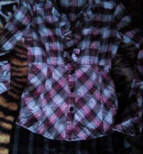 Рубашка и юбка 42 размер