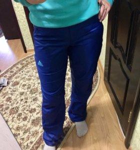Брюки теплые Adidas(оригинал)+флиска