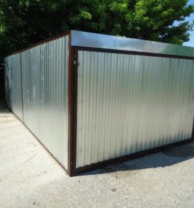 Разборный гараж-пенал