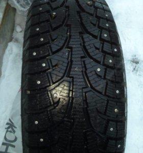 Продаю 4 новых зимних шипованных колёса