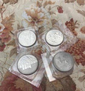 Монеты олимпийские