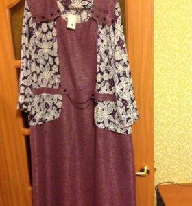 Платье новое 58/60 р