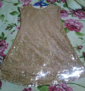 Платье-пайетки