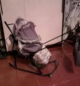 Санки-коляска детские