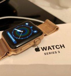 Apple Watch 3 series 38 mm оригинал на гарантии.
