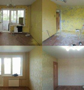 Ремонт и отделка квартир и домов.