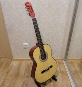 Гитара классическая новая!