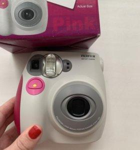Фотоаппарат с картриджем и батарейками