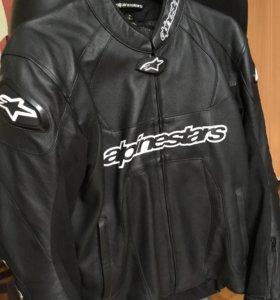 Куртка+Штаны+Перчатки Alpinestars + Сумка givi