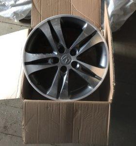 Литые диски от Хонда Аккорд