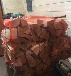 Березовые дрова колотые