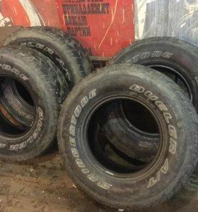 Шины Bridgestone Dueler A/T 265/75 r 16