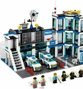 Лего полицейский участок 7498