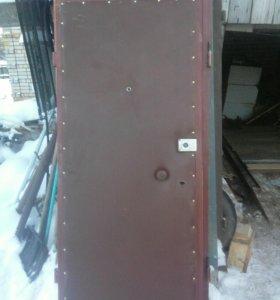 Дверь металлическую утепленая
