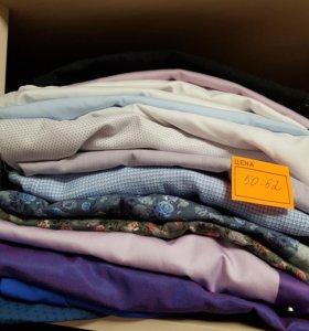 Рубашки 50-52. Рост 175.