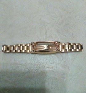 Металлический браслет для для xiaomi mi band 2.