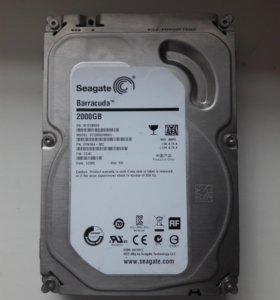 жесткий диск HDD 2T