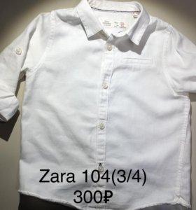 Брендовые рубашки 3/4 года