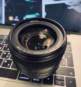 Canon EF 35mm usm 2.0