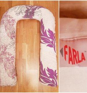 Подушка для беременных Farla форма U с наволочкой