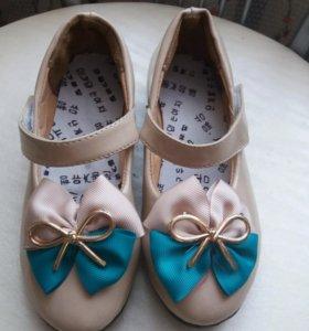 Элегантные туфли с бантиком