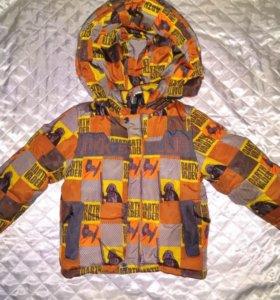 Продам зимний костюм 86-92 см