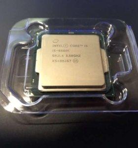 Процессор Intel core i5 6600k