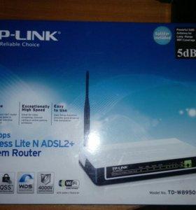 МОДЕМ РОУТЕР ADSL2+ TP-LINK