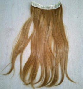 Иск.волосы на заколках(прядь затылочная)