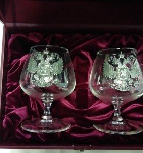 Набор бокалов (410мл) в подарочном футляре