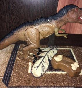 Радиоуправление с пульта динозавр 🦖