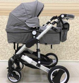 Детская коляска-трансформер belecoo(bars) 2 в 1