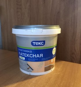 Шпатлёвка латексная (профи) 1,5кг