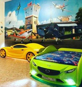 Детская кровать машина в Екатеринбурге