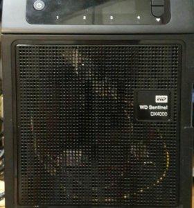 Nas, медиа сервер WD sentinel dx 4000