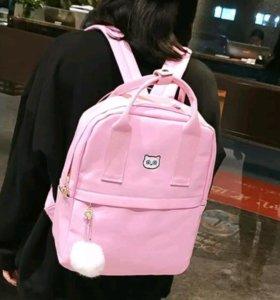 Рюкзак розовый новый