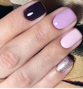 Наращивание ногтей скидка