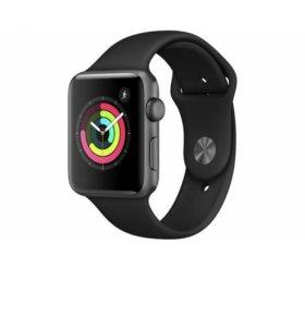 Apple Watch series 3 42mm Ростест новые.чек