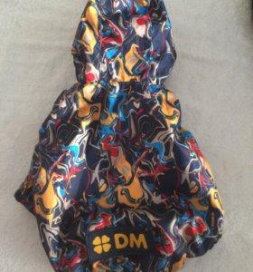 Куртка дождевик для собак мелких пород