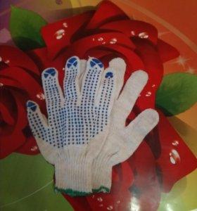 Перчатки для стр.работ