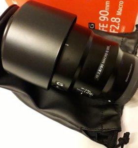 Sony fe 90mm f2.8 g oss macro sel90m28g