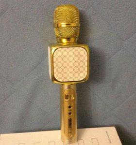 Микрофон караоке блютуз