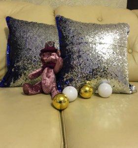 интеьерные подушки подарочные