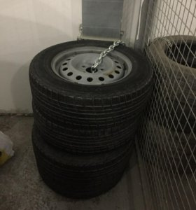 Колеса Yokohama ICE GUARD IG30 R16