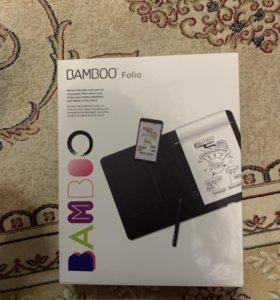 Цифровой блокнот Bamboo новый