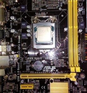 Материнка +процесор