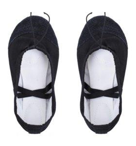 НОВЫЕ Туфли текстильные для танцев